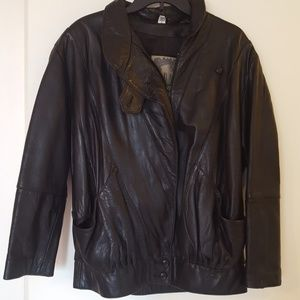 Vintage ADA Leather Jacket buttery soft